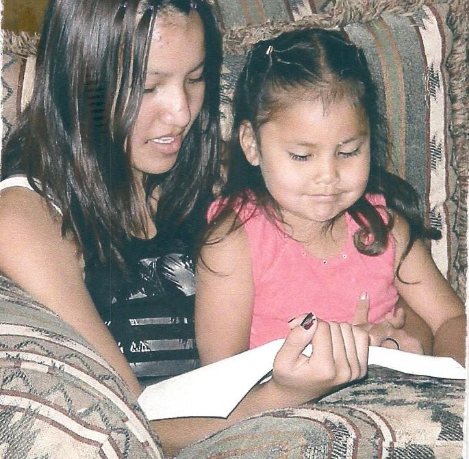 Navajo girls - Patricia's pic