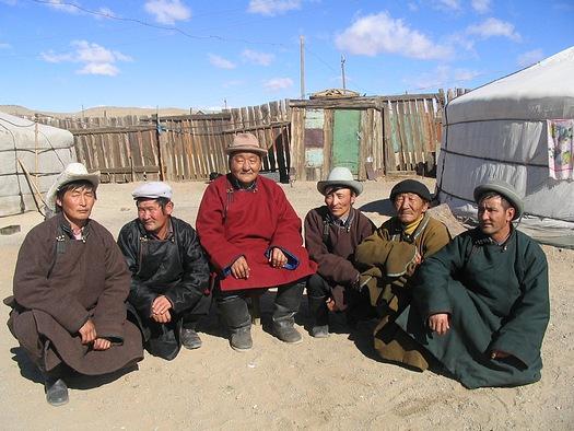 Mongolian men