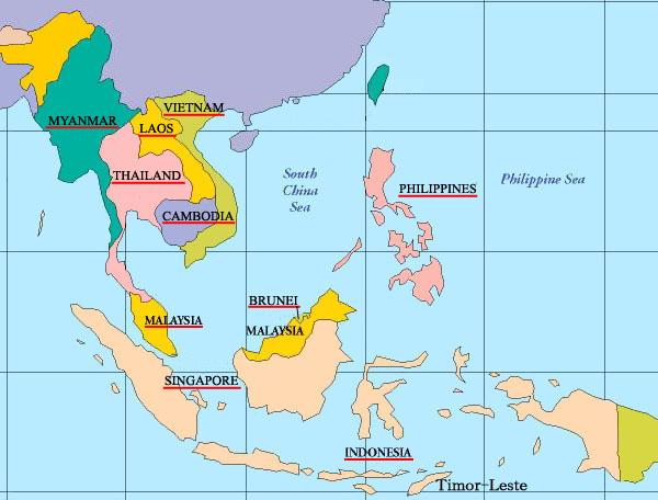 Southeast_asia map