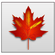 Canada maple leaf 2