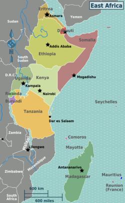 Africa, horn of