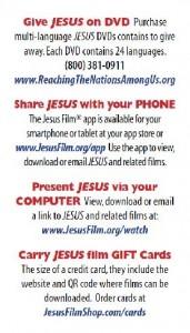 JF Info Card