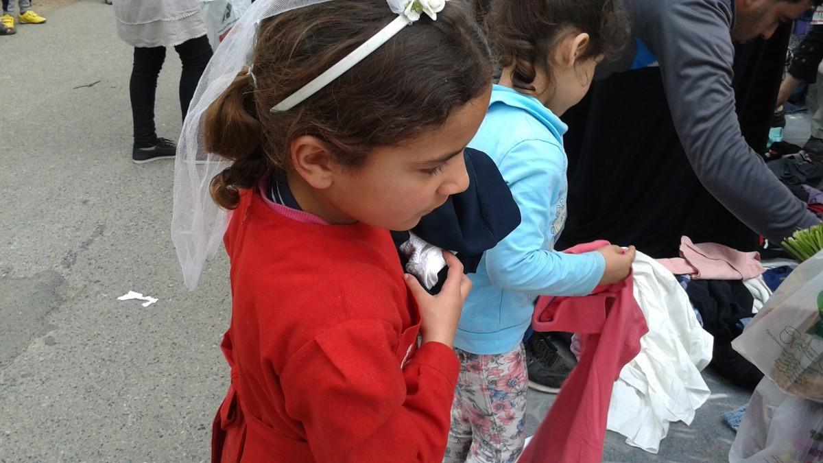 Syria Refugee Children
